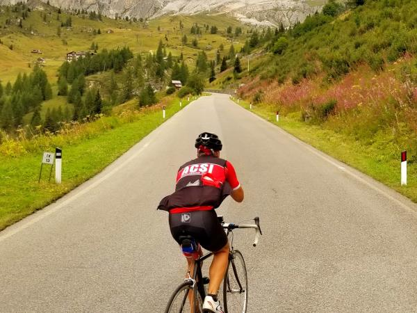 Cycling vacation in the French Alps