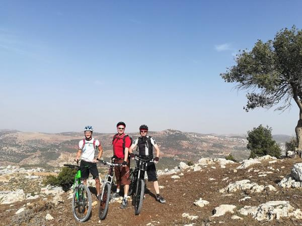 Jordan small group biking vacation