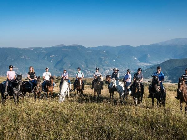 Armenia horse riding tour