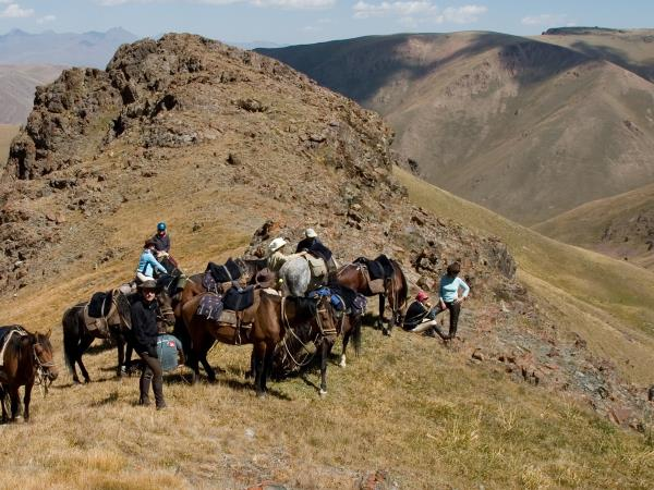 Riding vacation in Kyrgyzstan