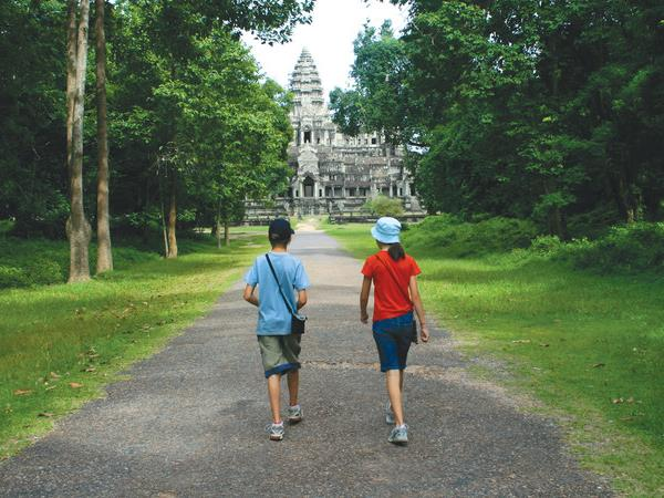 Cambodia family vacation for teenagers