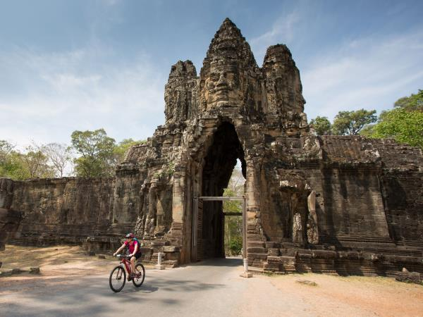 Small group biking vacation in Cambodia