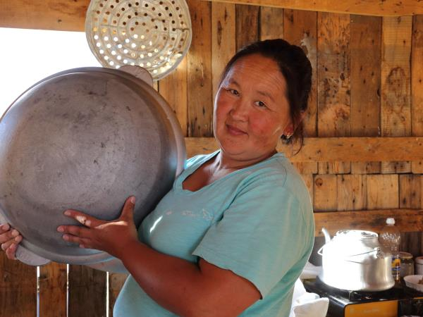 Mongolia tour, food of the Nomads