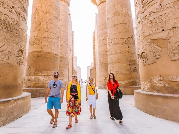 Under 30's vacation to Egypt