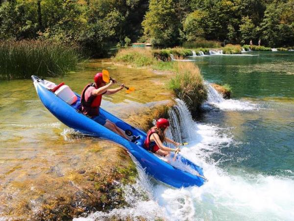 Watersports activity vacation in Croatia