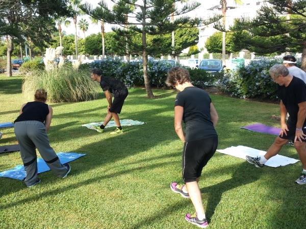 Fitness vacation in Spain, small group