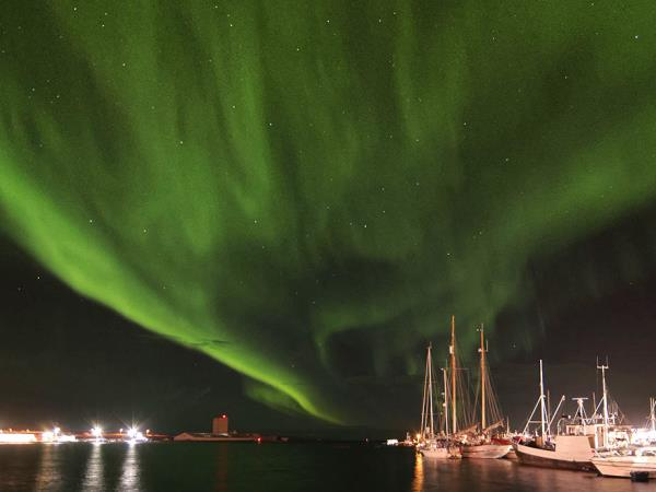 Northern Lights sailing cruise in Norway