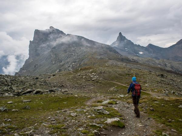 Trekking vacation in the French Alps