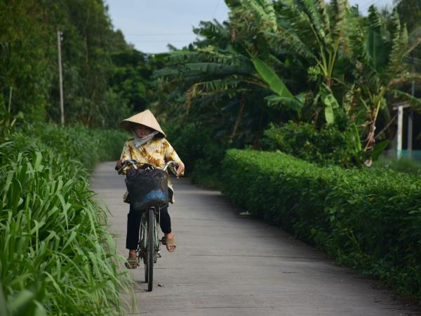 Vietnam biking vacation