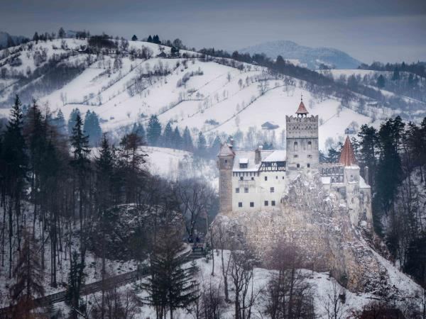 Transylvania winter tour in Romania, self drive