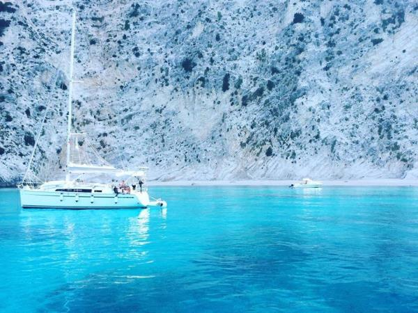 Freediving and sailing vacation in Greece