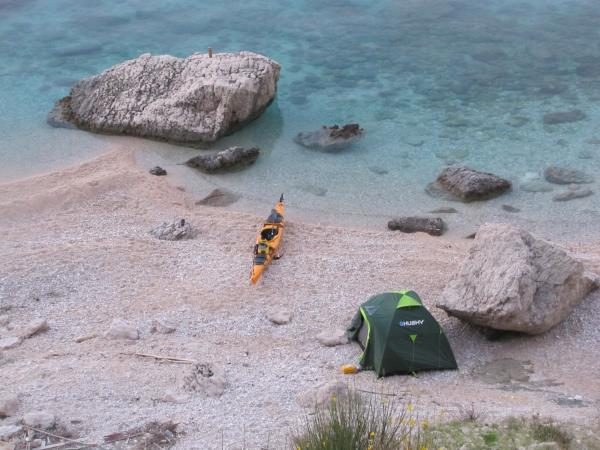 Rab sea kayaking tour in Croatia