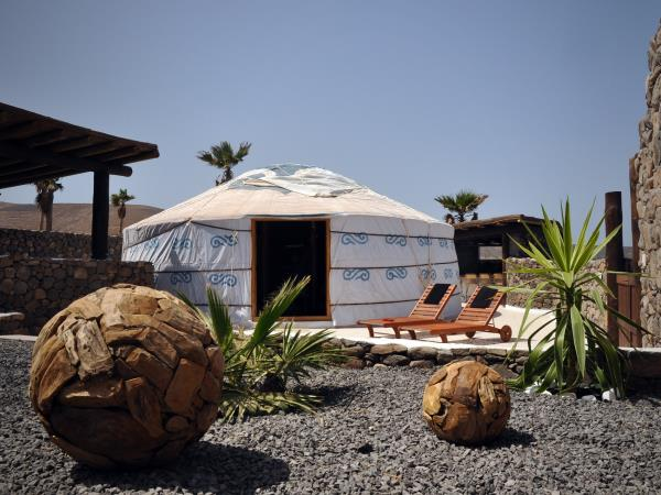 Canary Islands luxury yurt vacation