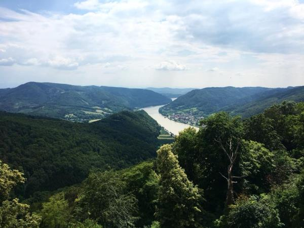 Danube self guided hiking vacation in Austria