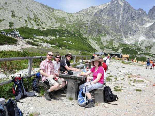 Tatras mountains self guided hiking vacation in Slovakia