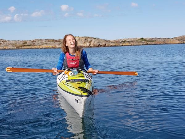 Women only kayaking holiday in Sweden