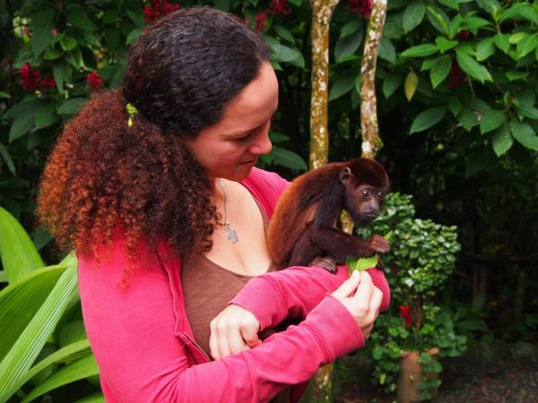 Ecuador wildlife sanctuary volunteering
