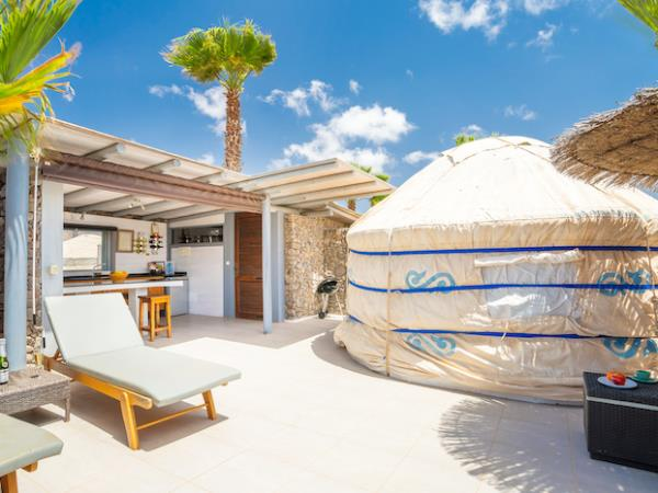 Eco yurt in Lanzarote