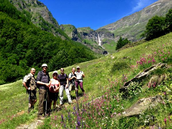 Italian Alps walking and cooking vacation