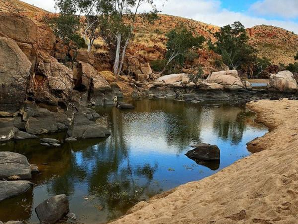 Larapinta Trail walking vacation in Australia