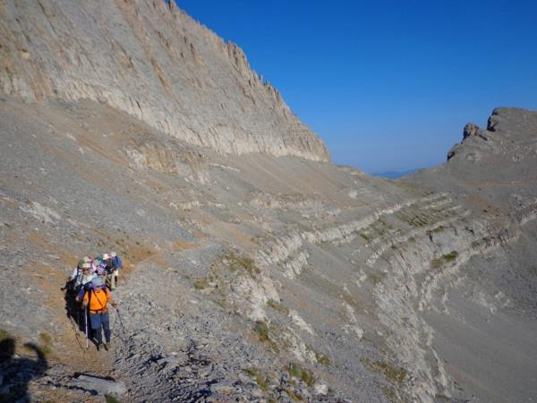 Mount Olympus hiking vacation, Greece