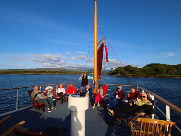 Scottish cruise private charter