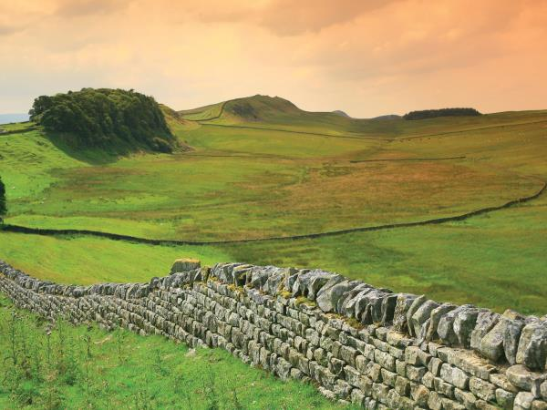 Hadrians Wall Trail walking holiday, England
