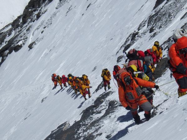 Mount Everest expedition, North Ridge route