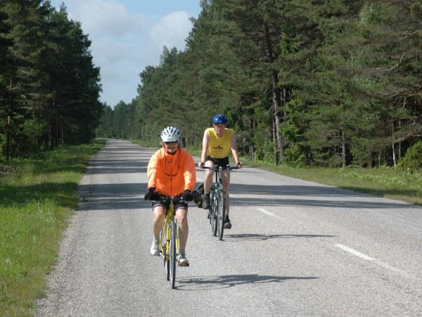 Lithuania to Poland self guided cycling tour