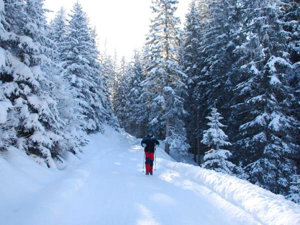 Winter walking vacation in the Austrian Tyrol