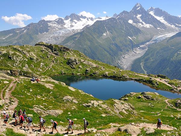 Mont Blanc walking vacations