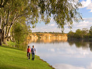 Riverside Blanchtown, South Australia. Photo by South Australia Tourist Board