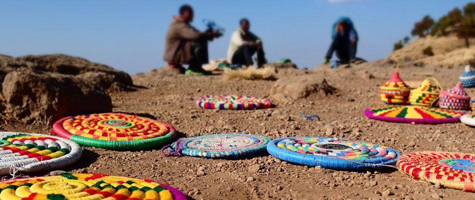 Local handicraft sellers