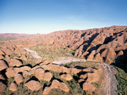The Bungle Bungle Range in Western Australia. Photo by Tourism Western Australia