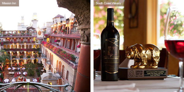 Mission Inn and South Coast Winery