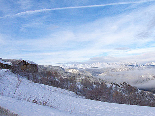 Snowshoeing in the Catalan Pyrenees