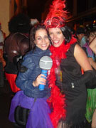 Girls at the carnival, Lanzarote. Photo by Lanzarote Tourist board