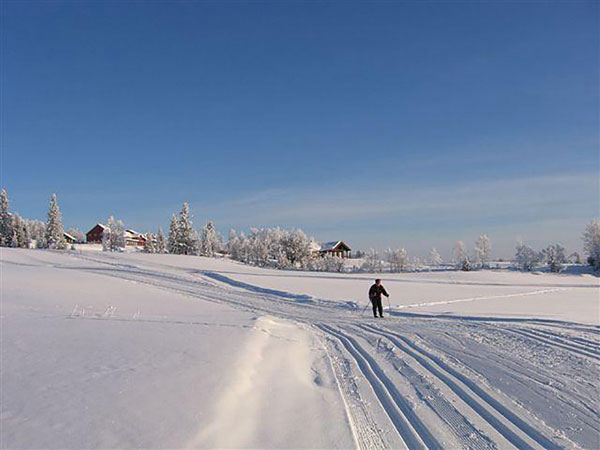 Kamben cross country skiing in Norway