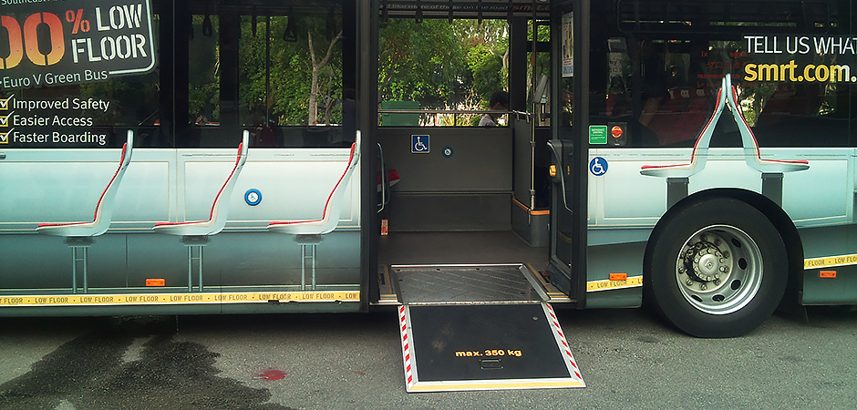 Image showing a wheelchair accessible bus.