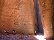 Echidna Chasm at Bungle Bungles in Purnululu. Photo by Nick Haslam