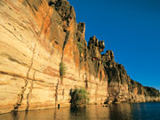 Geikie Gorge in Western Australia. Photo by Tourism Western Australia
