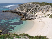 Geordie Bay in Rottnest, Western Australia. Photo by Richard Madden