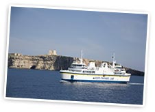 Ferry to Comino, Gozo. Photo by Nick Haslam