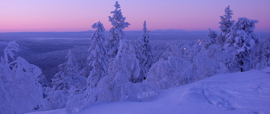 In the heart of Finnish Lapland