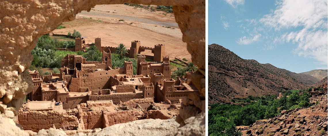 Ait Benhaddou and the High Atlas