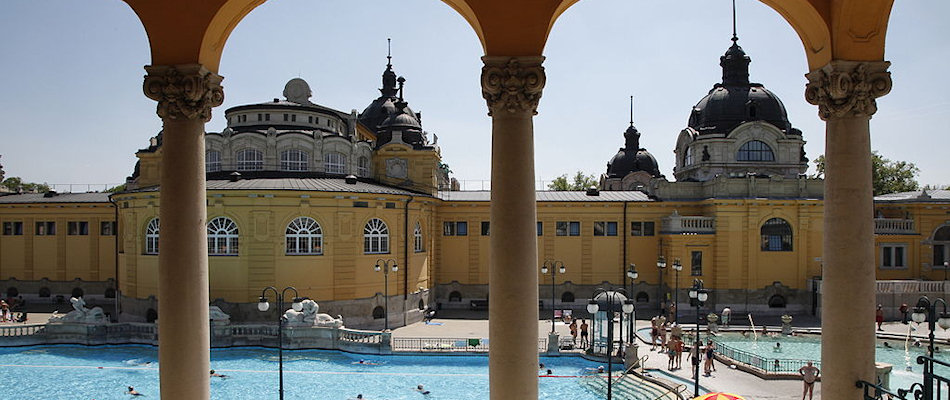 Thermal baths in Budapest