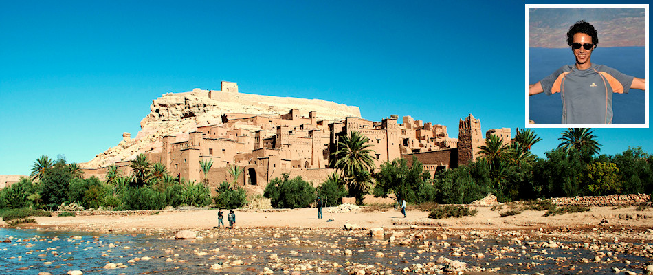 Aït Benhaddou and (inset) Mohamed Merri