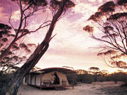 Kangaluna camp, South Australia. Photo by South Australia Tourist Board