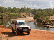 Checking the map on the Gibb River Road. Photo by Nick Haslam