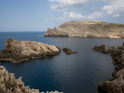 Fornells coastline, Menorca. Photo by Nick Haslam